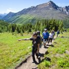 Hiking with Austin-Lehman Adventures in the Canadian Rockies