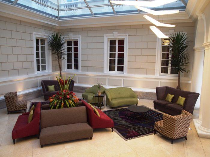 Bonus: an upgrade to Casa Gangotena in Quito