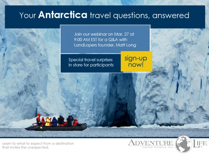 Learn about new fly-cruise options to Antarctica