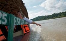 Enjoying The Sun on The Usumacinta River - Adventure Travel Photos
