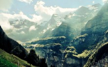 Jungfrau Mountains - Adventure Travel Photos