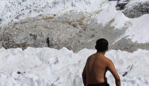 Yoga at Everest Base Camp