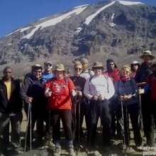 Dorset's The lucky 13 Climb Kilimanjaro for Charity with Private Expeditions - Adventure Travel Videos