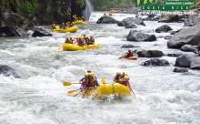 Upper Huacas Rapid, Pacuare River - Adventure Travel Photos