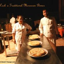 Learn to cook a chicken bastilla with a master bastilla chef