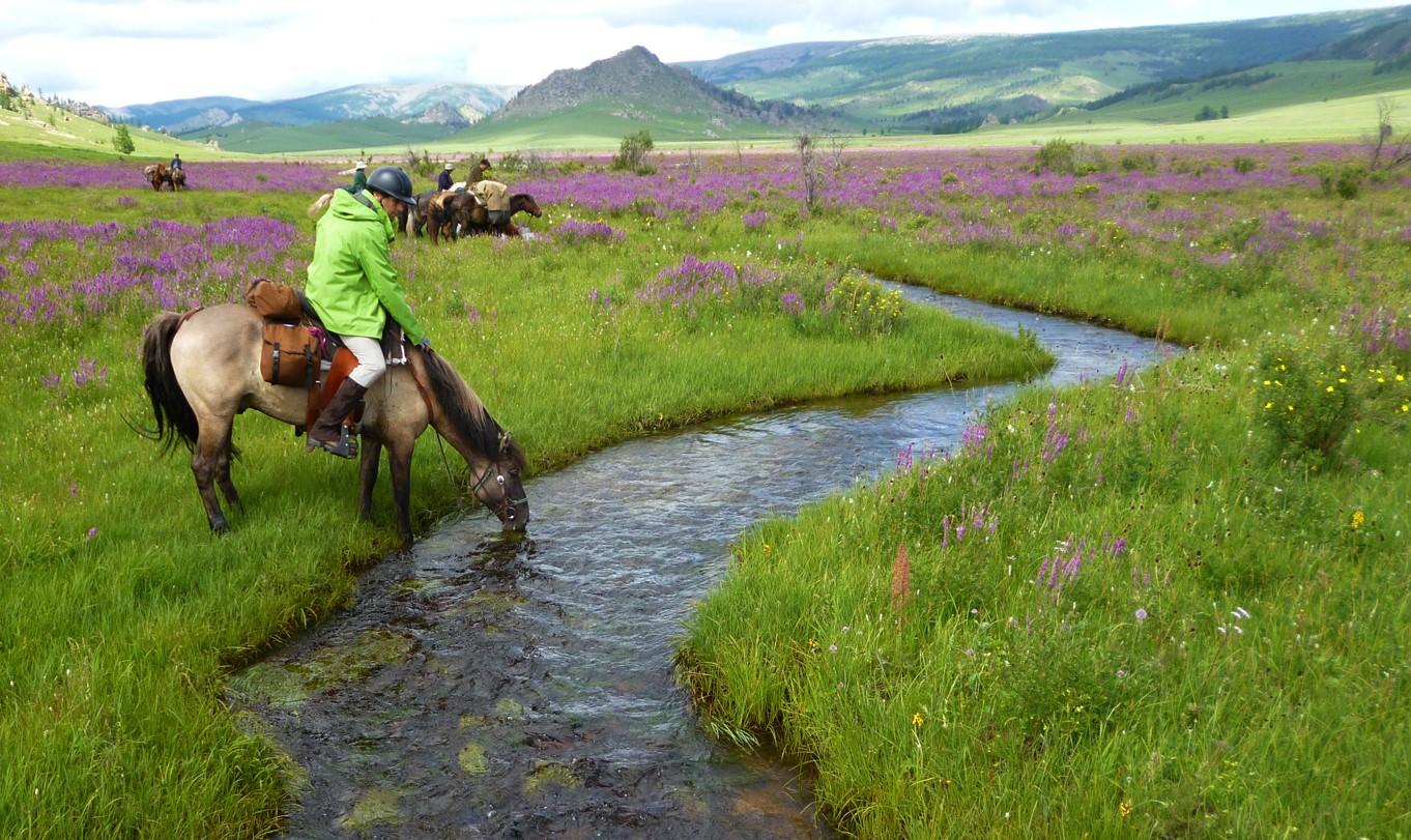Mongolia Multisport Hike, Kayak, Horse Trek