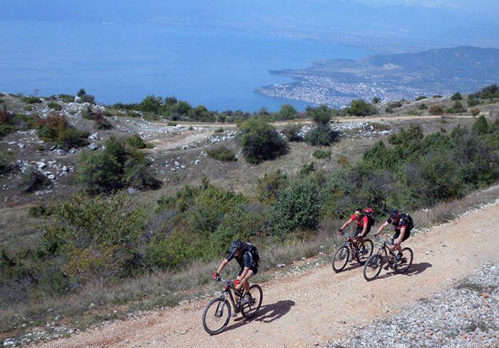 Lake Ohrid bicycle tour