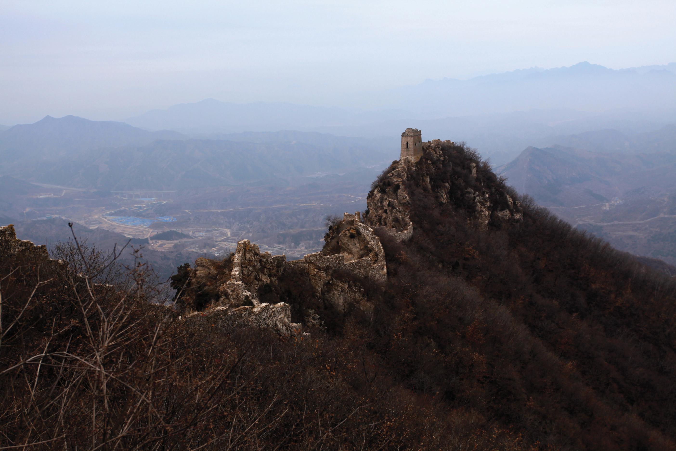 Great Wall Dragons Head