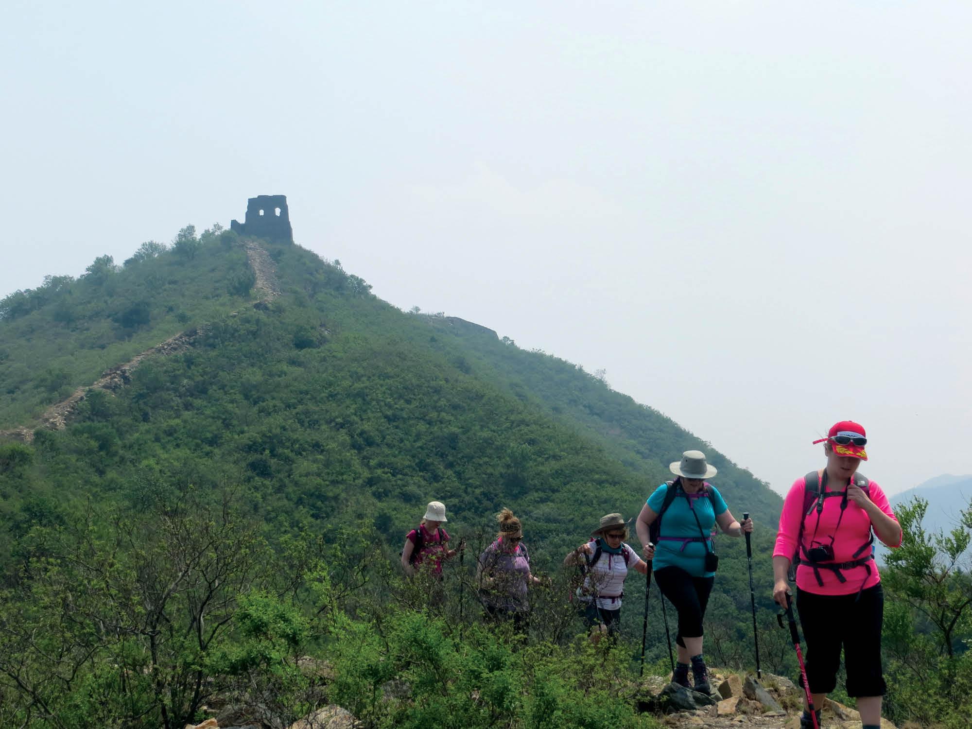 Women China Great Wall