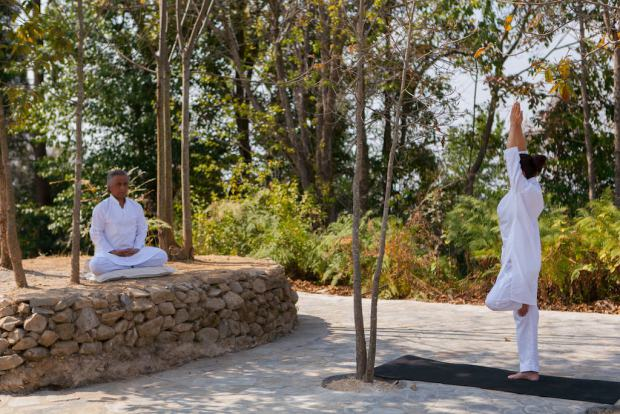 Practice daily Yoga in Nepal