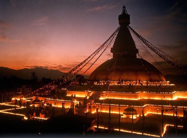 Bouddha, Boudhanath, Bodnath-Kathmandu