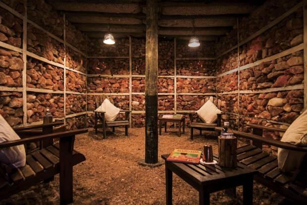 Salt Treatment Room at Dwarikas Dhulikel Resort