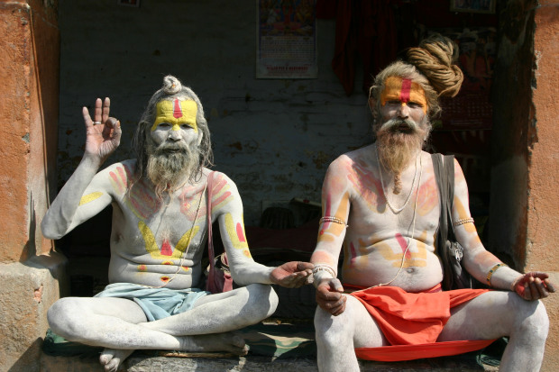 Sadhu's at Pashupatinath-Kathmandu